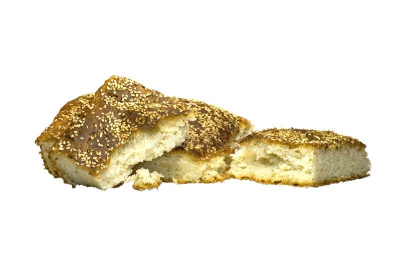 Brot mit Sesamstartwerten für zufallsgenerator stockbilder