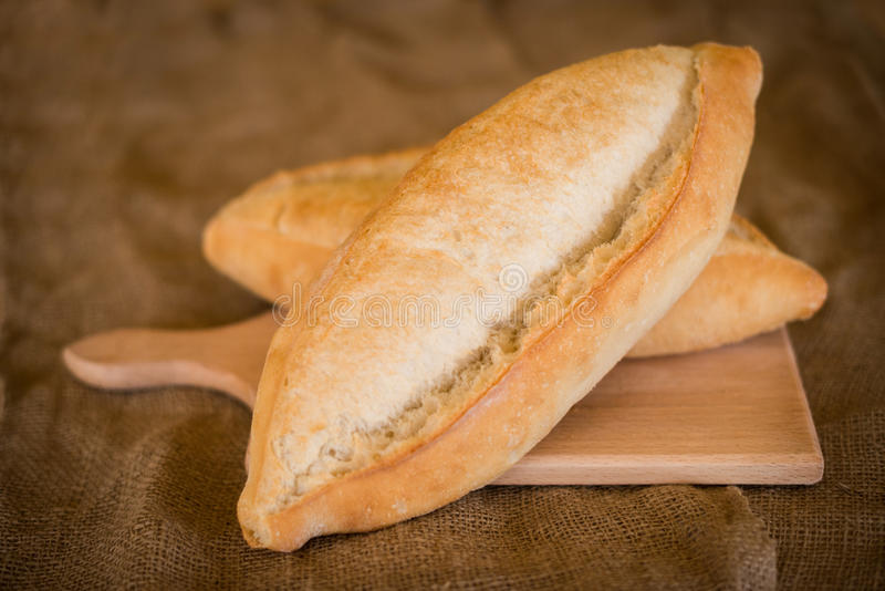 Brot rustikal stockbilder