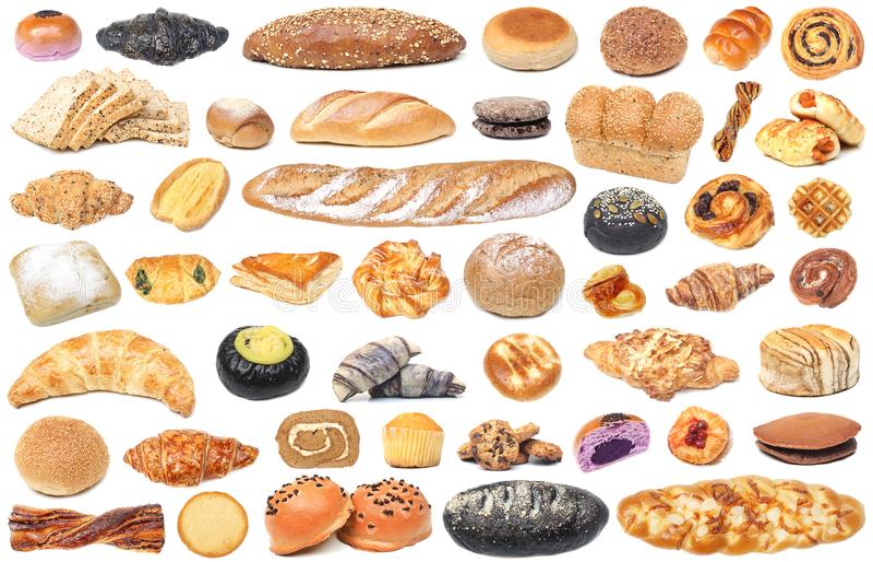 Brot und Bäckerei stockbilder