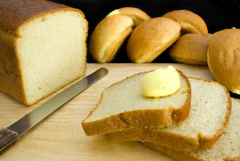 Brot und Butter lizenzfreie stockbilder