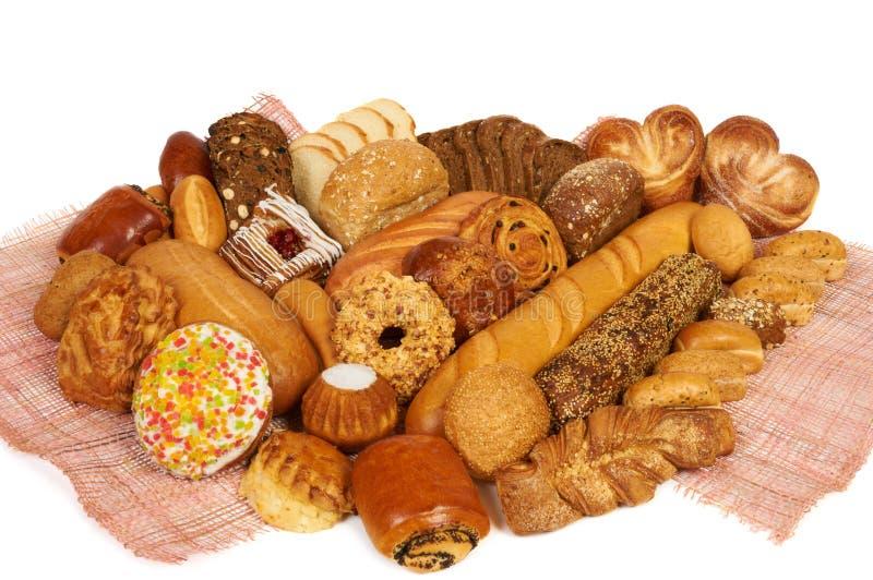 Brot und Gebäck lizenzfreies stockfoto