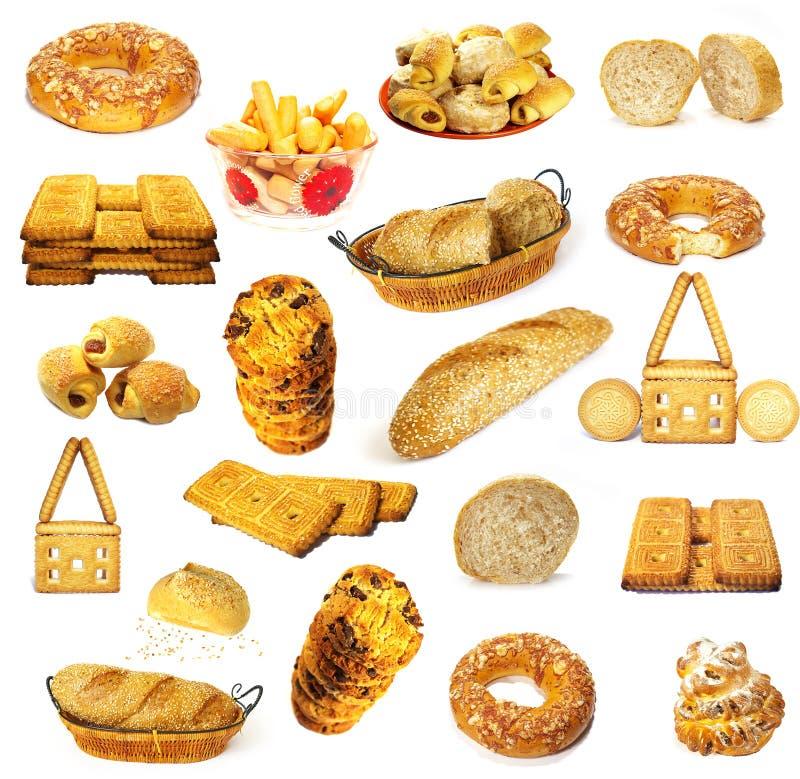 Brotansammlung lizenzfreie stockbilder