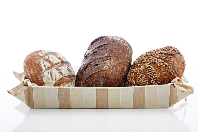 3 Brote stockfotos