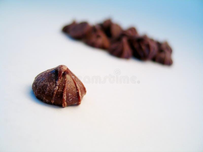 Brote Del Chocolate, Aislado Fotos de archivo