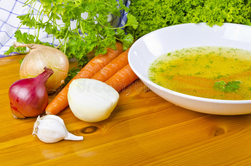 Download Broth stock image. Image of vegetables, meal, bowl, cooking - 20573997