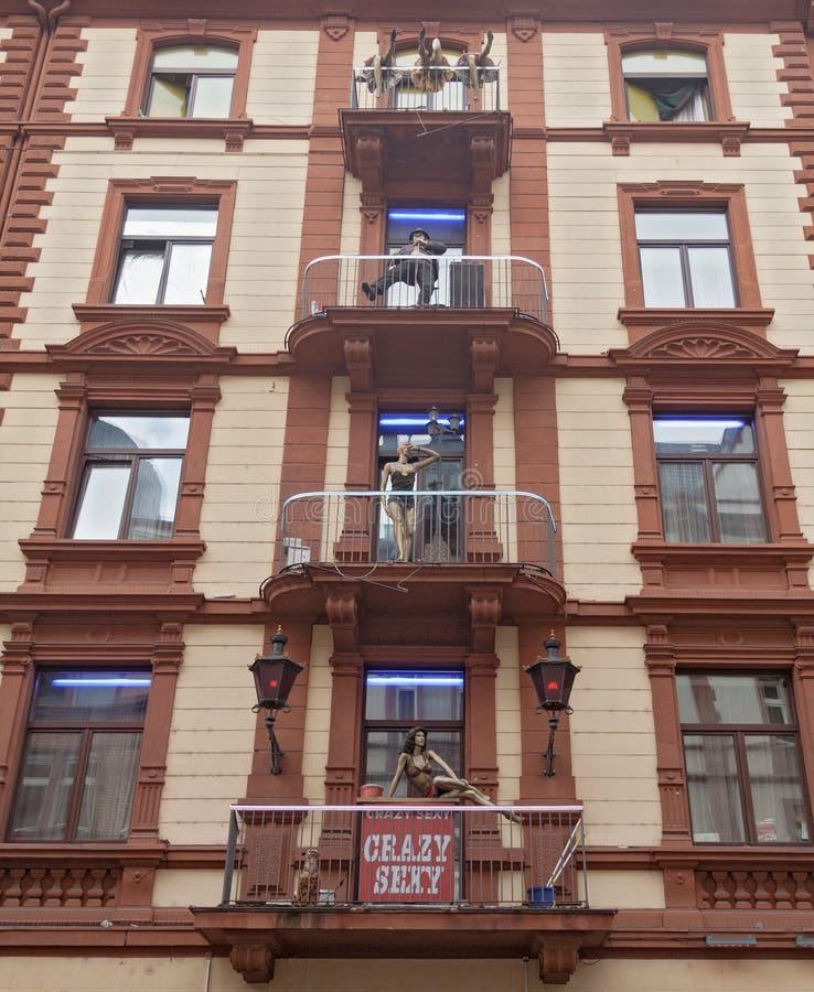 Brothel In Frankfurt, Germany Editorial Photo - Image of