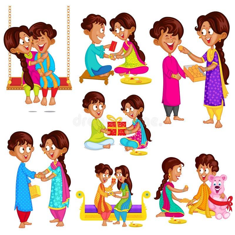 Free Brother And Sister In Raksha Bandhan Stock Images - 42823934
