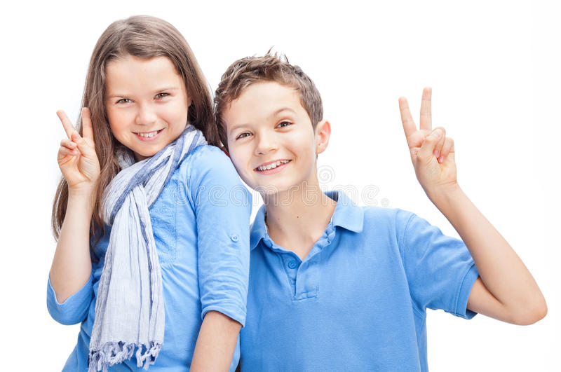 Download Brother and Sister stock photo. Image of portrait, family - 33959522