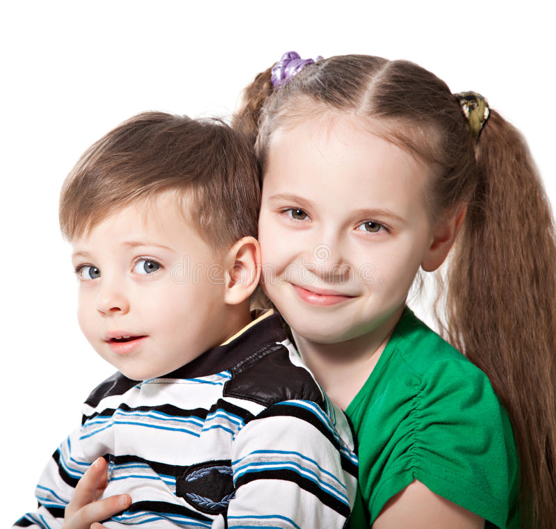 Free Brother With Sister Royalty Free Stock Image - 29600846