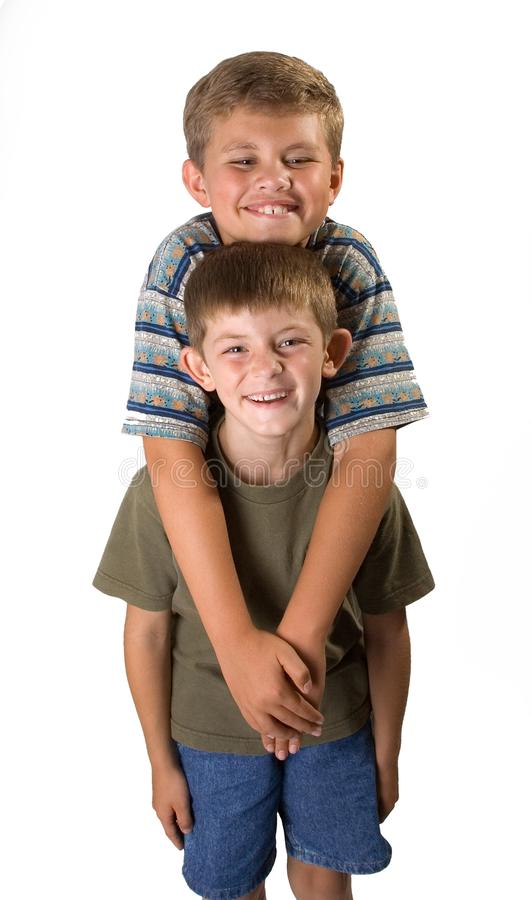 Brotherly Love 1 royalty free stock photography