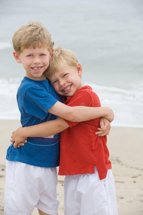 Brotherly love royalty free stock photos