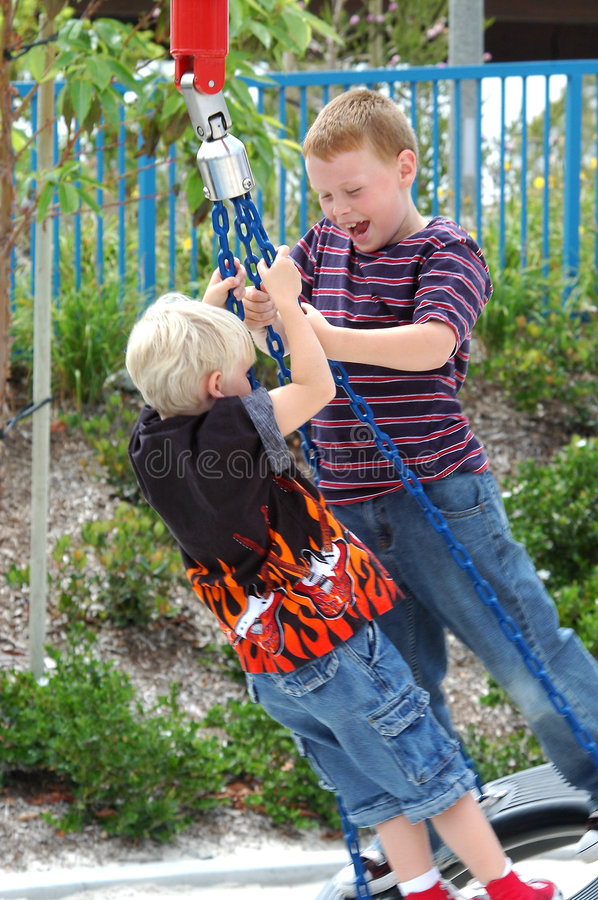 Download Brothers stock image. Image of park, children, play, brother - 151843