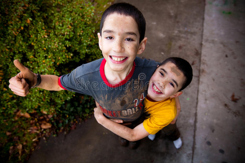 Download Brothers stock photo. Image of playful, silly, face, united - 21302214