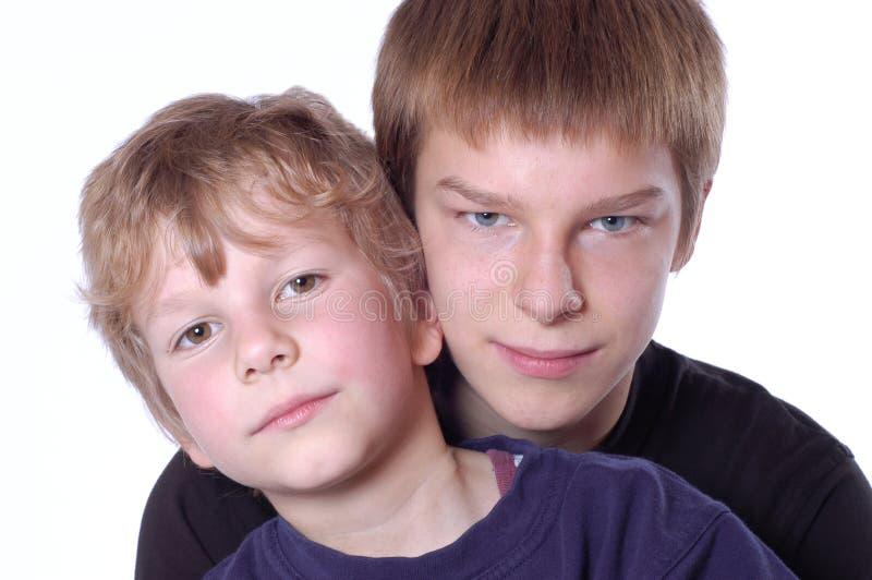 Brothers stock photos