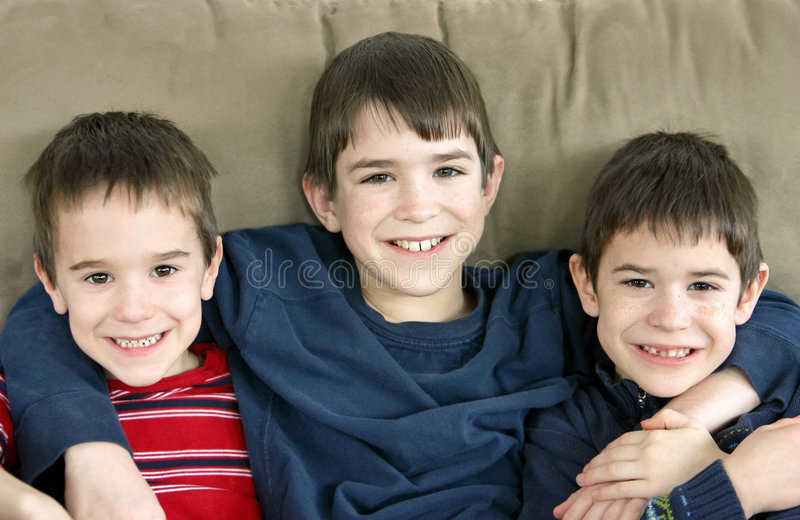 Brothers stock images
