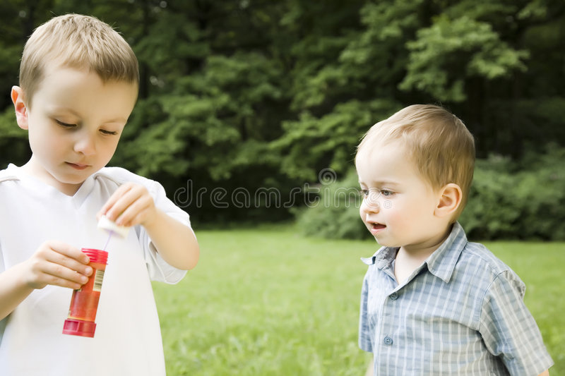 Download Brothers Outdoors stock photo. Image of background, cute - 5517506