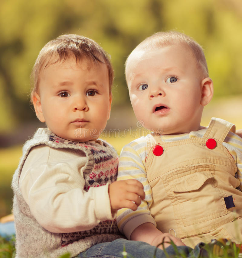 Download Brothers portrait stock photo. Image of caucasian, baby - 27241884
