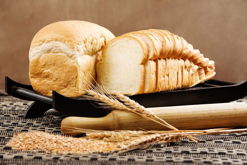 Brotlaib lizenzfreies stockbild