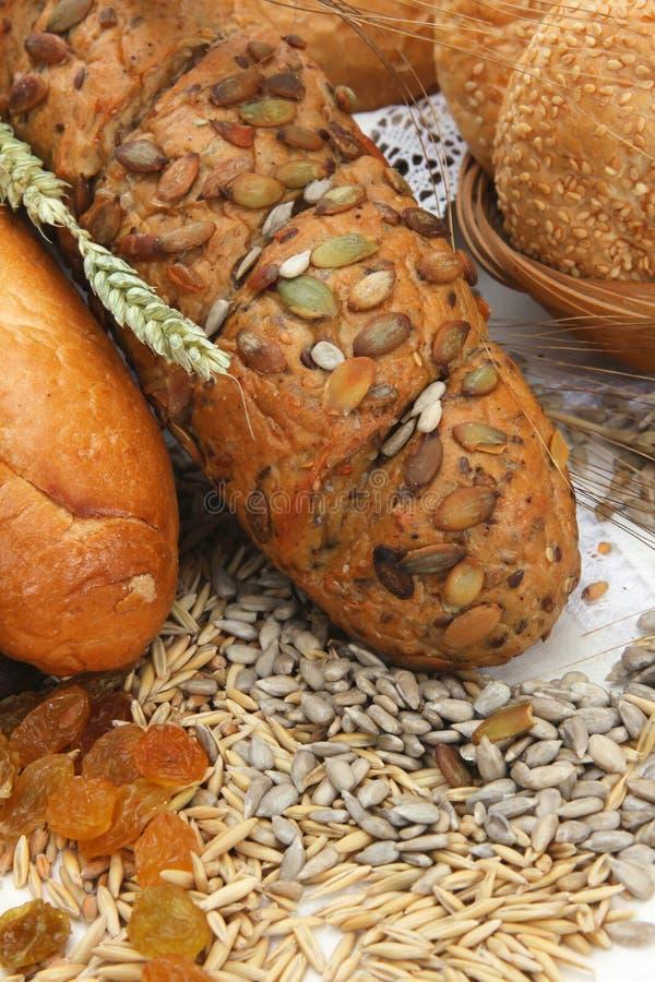 Brotprodukte mit Startwerten für Zufallsgenerator lizenzfreie stockfotografie