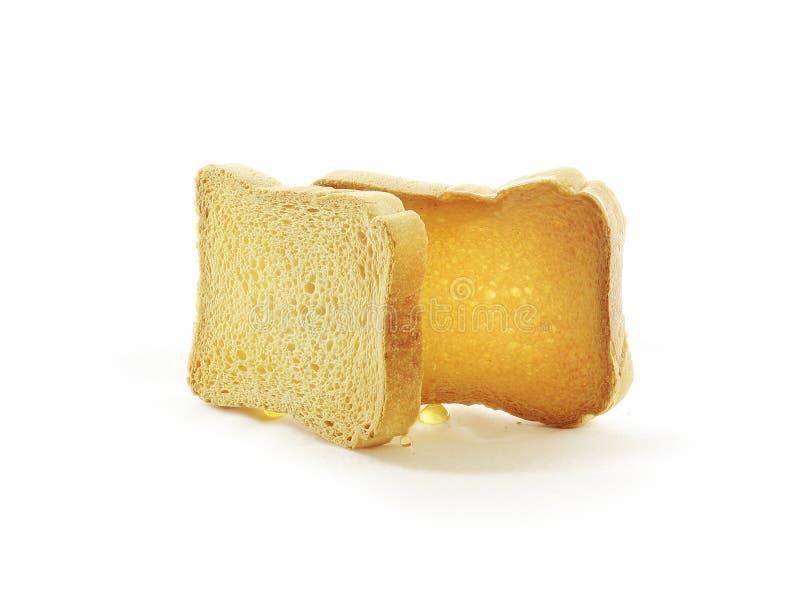 Brotscheiben stockbilder