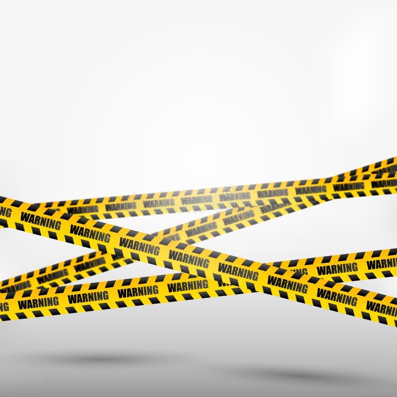 Brott på radband stock illustrationer