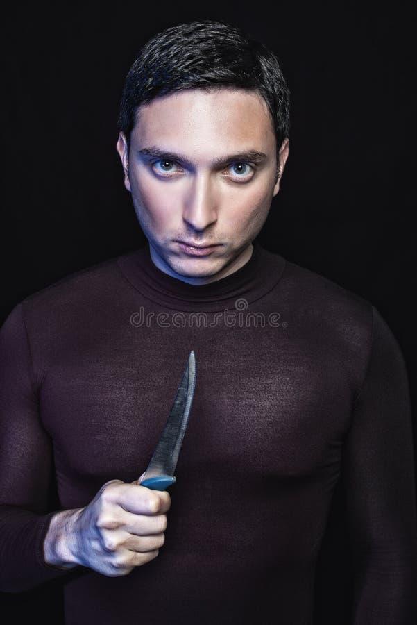Download Brottslig kniv arkivfoto. Bild av ilskna, psykopat, farligt - 19790690