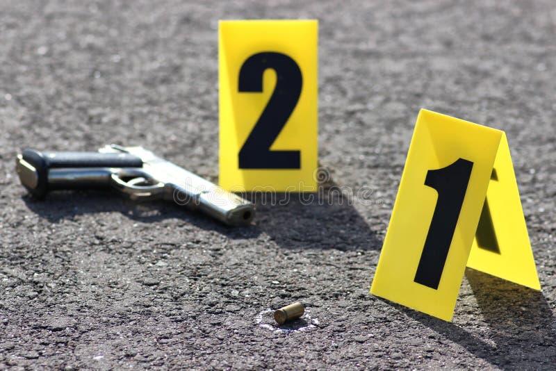 Brottsplats 05 arkivfoton
