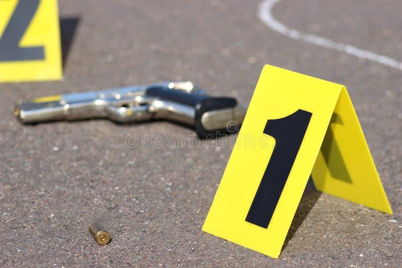 Brottsplats 06 fotografering för bildbyråer