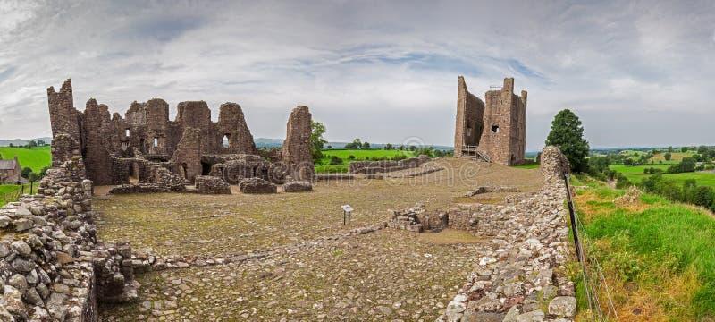 Brough-Schloss-Panorama stockbild