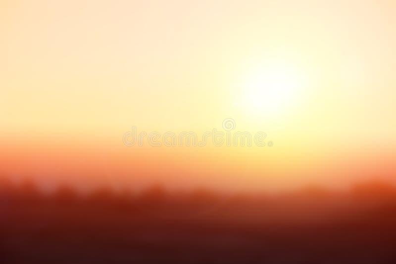 Brouillage De Fond Naturel Couleurs Chaudes Et Lumière Lumineuse ...