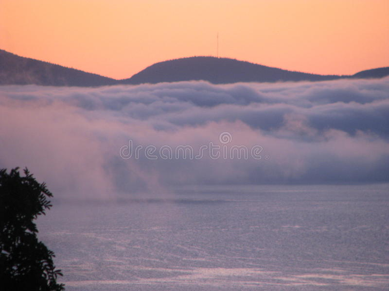 Brouillard étrange images libres de droits