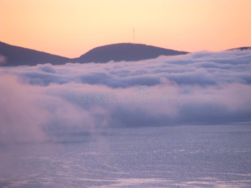 Brouillard étrange photo libre de droits