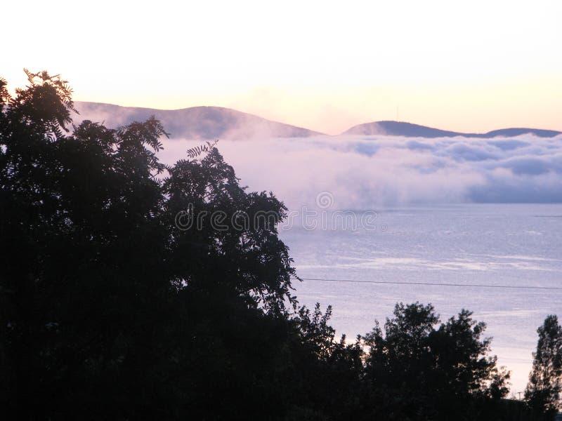 Brouillard étrange image libre de droits
