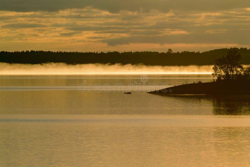 Brouillard de roulement dans Jarso photographie stock libre de droits