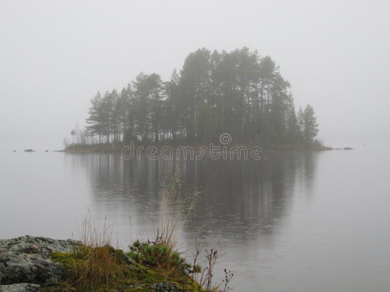 Brouillard de septembre photographie stock libre de droits