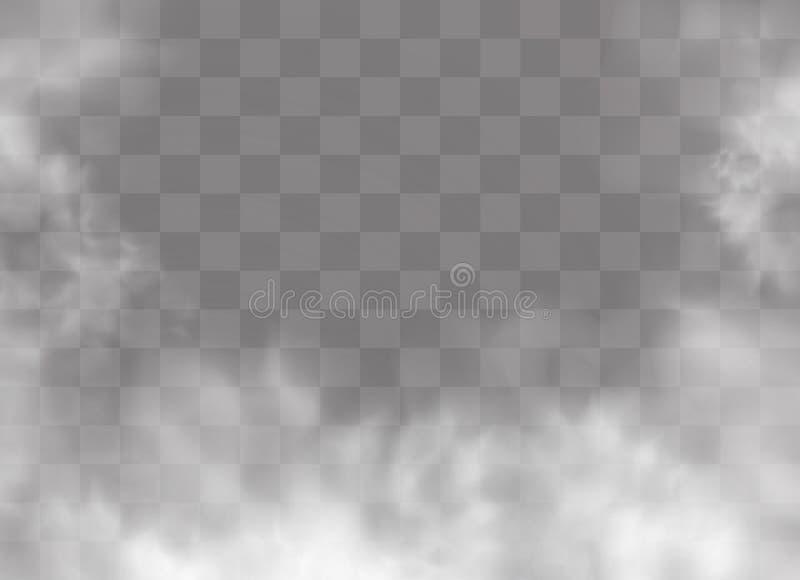 Brouillard ou fumée illustration de vecteur