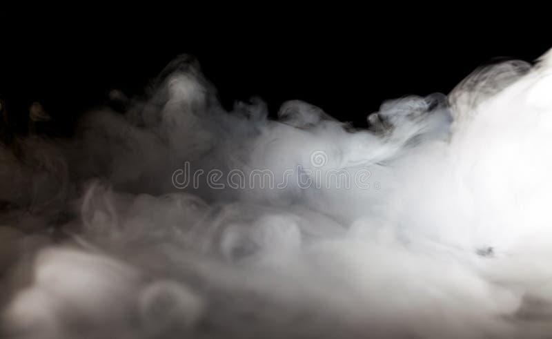 Brouillard ou fumée abstrait images stock