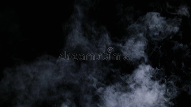Brouillard sec réaliste de nuages de fumée photos libres de droits