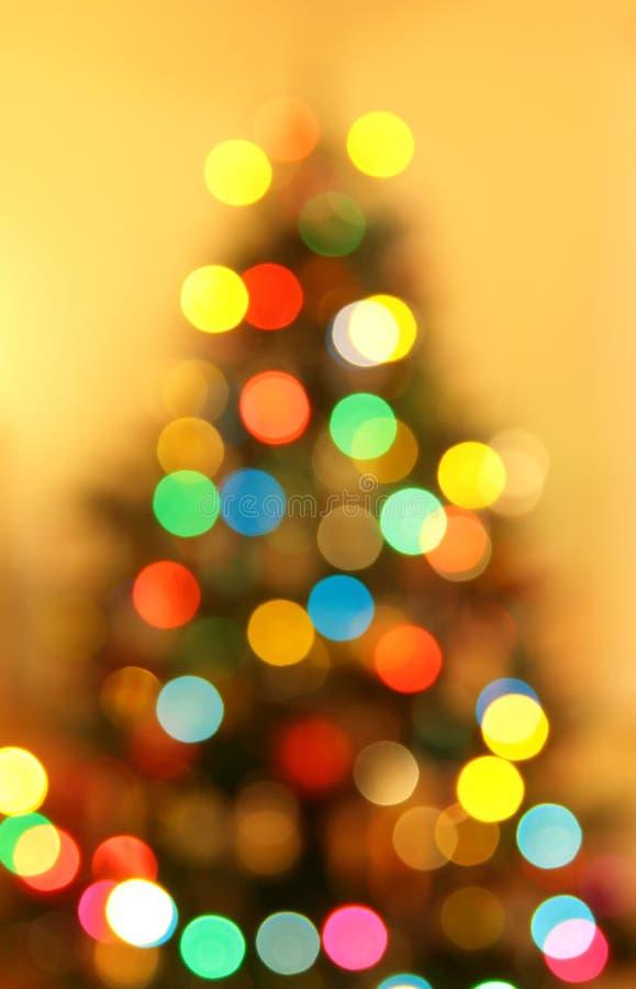 Brouille Noël de lumière photographie stock libre de droits