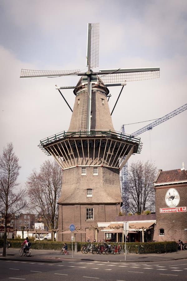 Brouwerij 't IJ Brouwerij in Amsterdam Nederland Maart 2015 stock fotografie