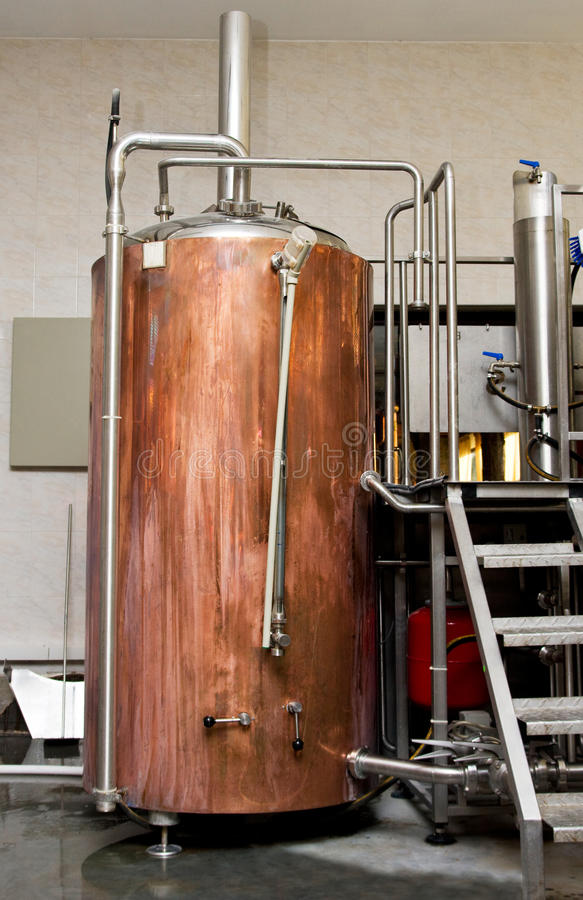 Brouwerij stock afbeelding