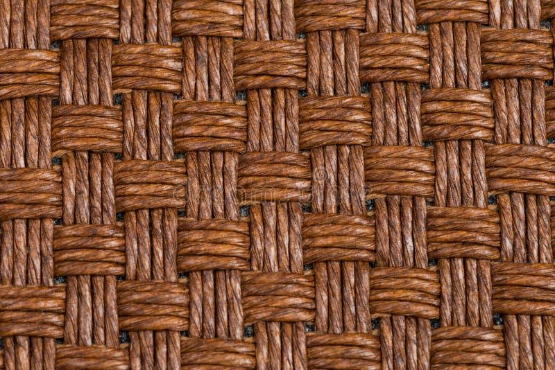 Brown łozinowa tekstura fotografia stock