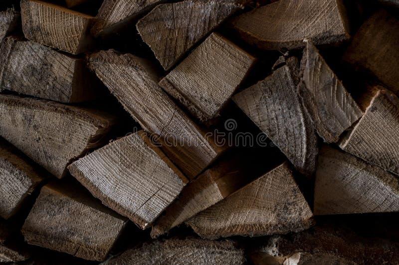 Brown łupki stara siekająca ściana Textured tło z drewnianym naturalnym panelem zdjęcie stock