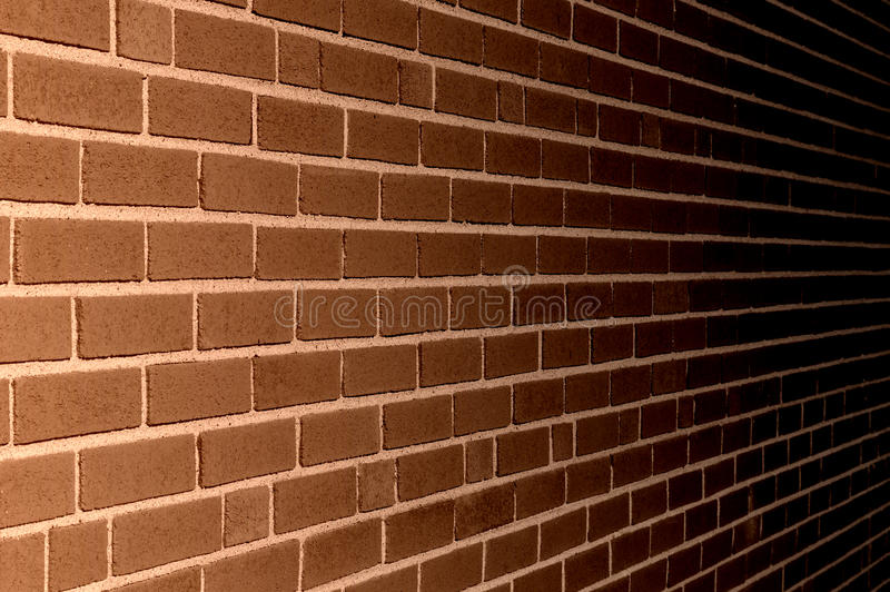 Brown ściana z cegieł tła tekstury ilustracja zdjęcie stock