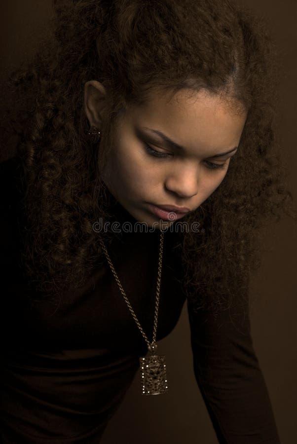 Download Brown fotografia stock. Immagine di triste, giovane, vestiti - 7316606