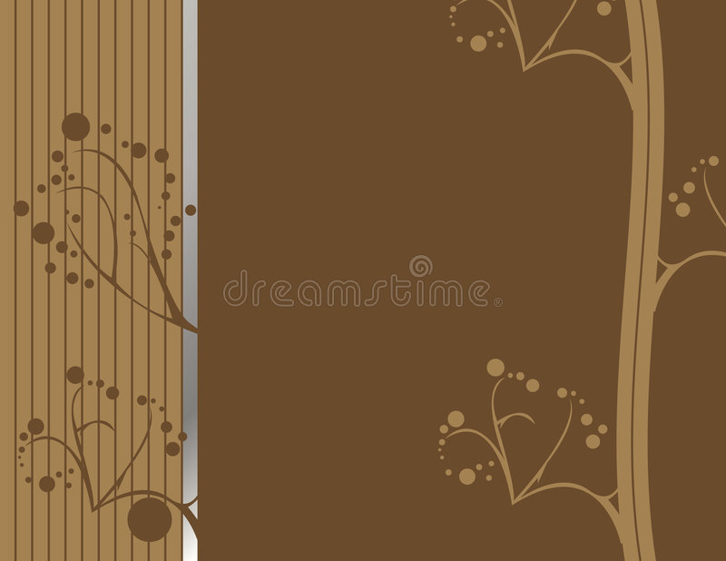 Brown abstract earthy design 1 vector illustration