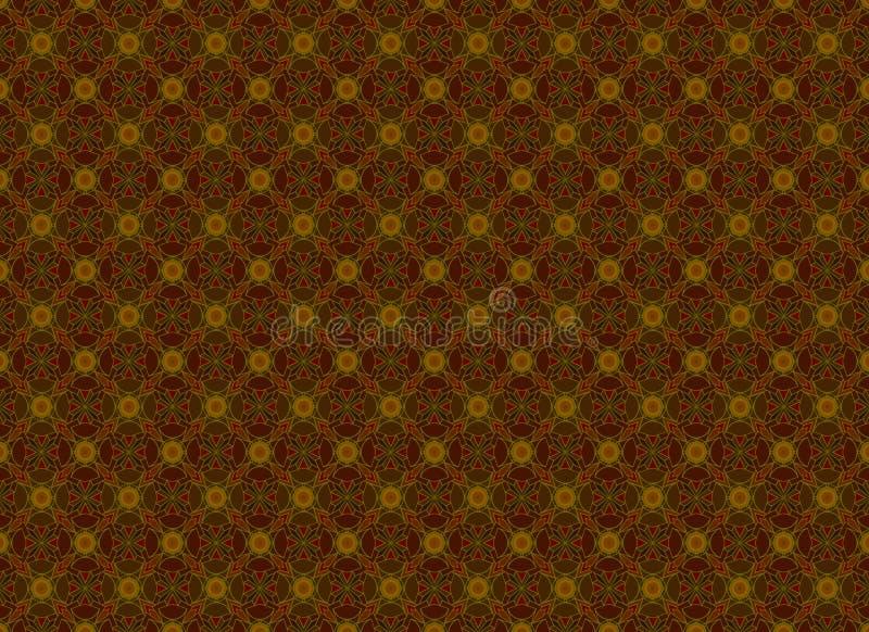 Brown geometric pattern stock photos