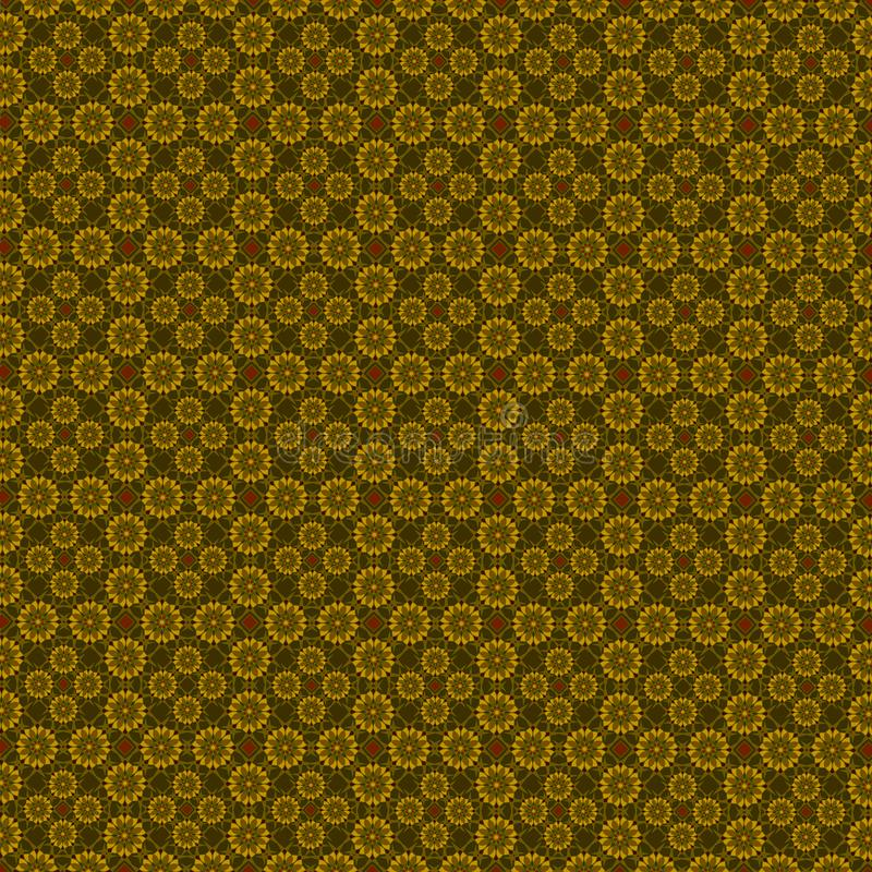 Brown geometric pattern stock photo
