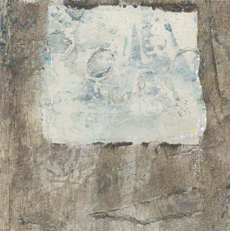 Brown abstrait et beige illustration de vecteur