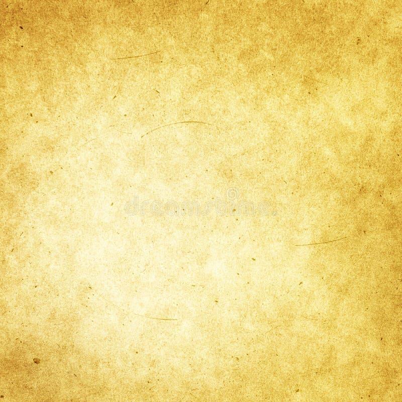 Brown-alter Papierhintergrund, Schmutz, Retro-, Weinlese, Fleck, scrat vektor abbildung